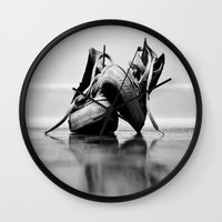 converse Wall Clocks featuring Converse by K'VAL