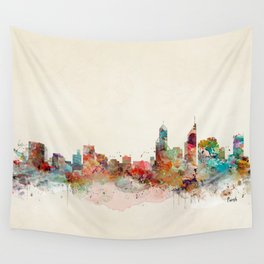 perth australia Wall Tapestry