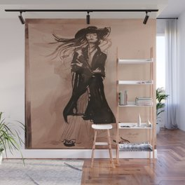 Fashion illustration Wall Mural