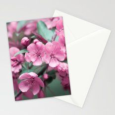Pink Cherry Blossoms Stationery Cards