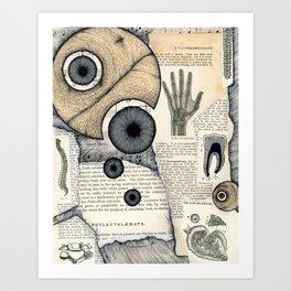 X Y Z Art Print