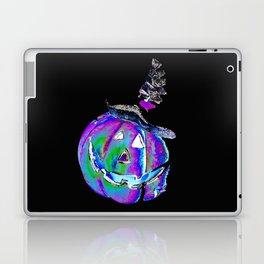 Halloween Jack O Lantern Of Many Colors 2 By Annie Zeno  Laptop & iPad Skin