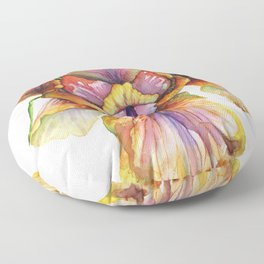 Lord of the Iris Kingdom Floor Pillow