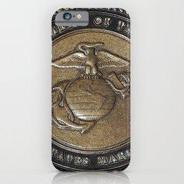 Marine Corps Symbol Style 2 iPhone Case