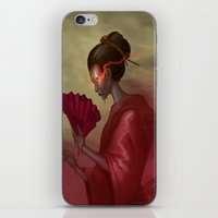 blood iPhone & iPod Skins featuring Blood by Yoncho Yonchev