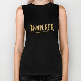 Wanderer / Wonderer – Gold Biker Tank