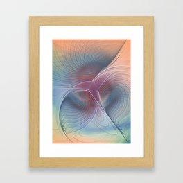 soft and tender -2- Framed Art Print