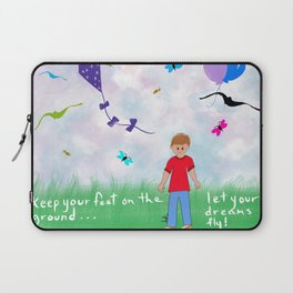 Let Your Deams Fly Laptop Sleeve