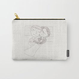 Stucky - a warm bed on a cold morning Carry-All Pouch