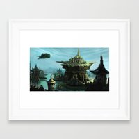 uncharted Framed Art Prints featuring Uncharted by Henriiです~