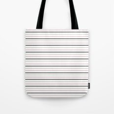 Simply Stripes Tote Bag
