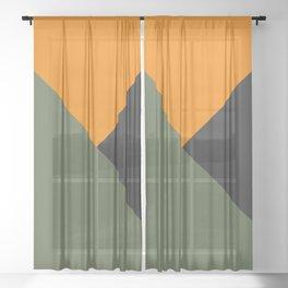 Halo Infinite Master Chief Mjolnir Armor Flat Three Color Design Sheer Curtain