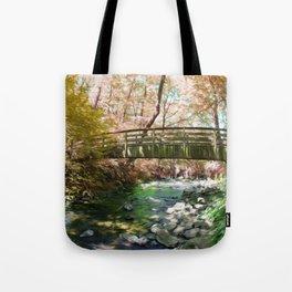 Bridal Veil Surreal Falls Tote Bag