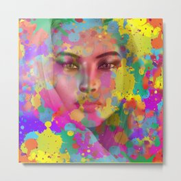 Apparition of Beauty Metal Print