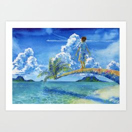 Tio Art Print