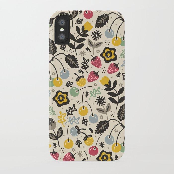 Very Berry iPhone Case