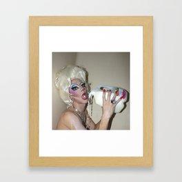Lactose Intolerance Framed Art Print