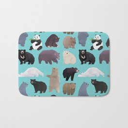 Bears Bears pattern Bath Mat