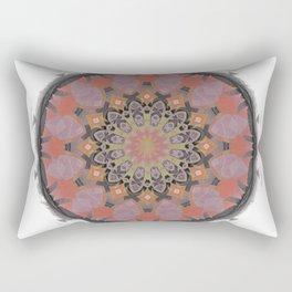 Kiwi of the Gods Spirit Fruit Mandala 1 Rectangular Pillow