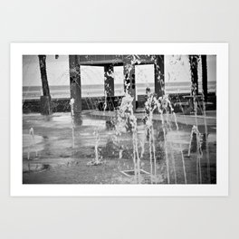 Fountains Art Print