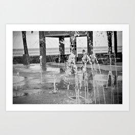 Fountains Art Print