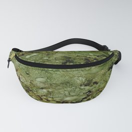 Green Camo Fanny Pack