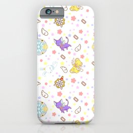 cardcaptor sakura kawaii pattern iPhone Case