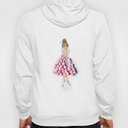 Ballerina in pink dress Hoody