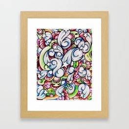 Full Monty. Framed Art Print