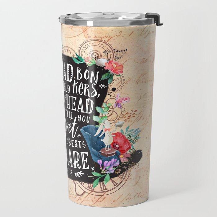 Mad Hatter Travel Mug