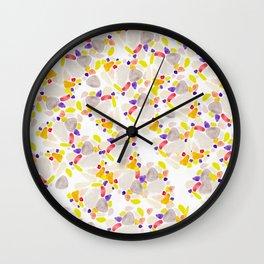 tropicalfruits. Wall Clock