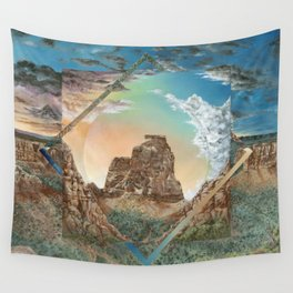 Colorado National Monument Polyscape Wall Tapestry