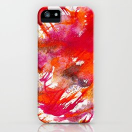 Swooping Abstraction iPhone Case