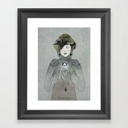 I have a secret Framed Art Print