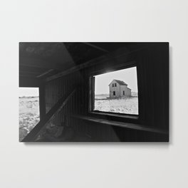 Abandoned Saskatachewan Metal Print