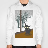 snow Hoodies featuring Snow by BATKEI