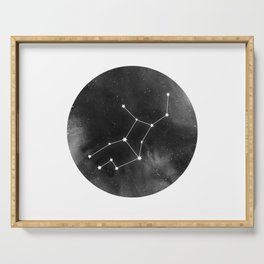 Virgo Zodiac Sign | Space | Horoscope | Star Constellation Serving Tray