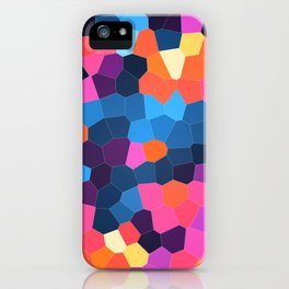 Geometric Brights iPhone Case