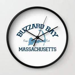 Buzzards Bay. Cape Cod Wall Clock