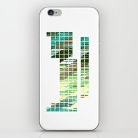 periodic table iPhone & iPod Skins featuring Periodic Table, Pixilated Color Blocks by kltj11