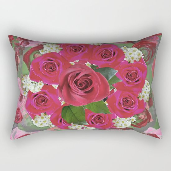 Anniversary 8 Fade Rectangular Pillow
