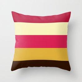 Bonbon Palette Throw Pillow