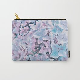 Tender Hydrangea Carry-All Pouch