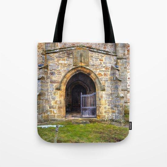 Holy Trinity Church, Wensley Tote Bag