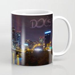 Philly Skyline Glowing Coffee Mug