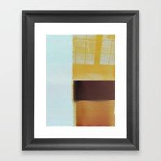 lunch blues Framed Art Print