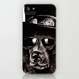 Slash Poodle iPhone Case