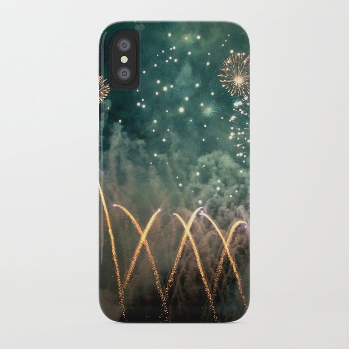 Fireworks Face iPhone Case
