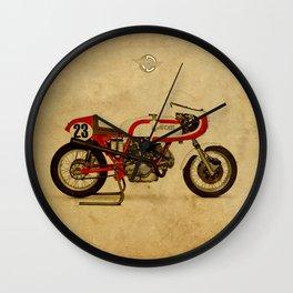 Ducati 750SS Corsa 1974 Wall Clock