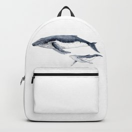 Humpback whale with calf Backpack